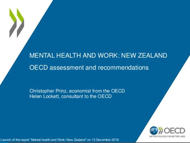 OECD report – Mental Health and Work: New Zealand