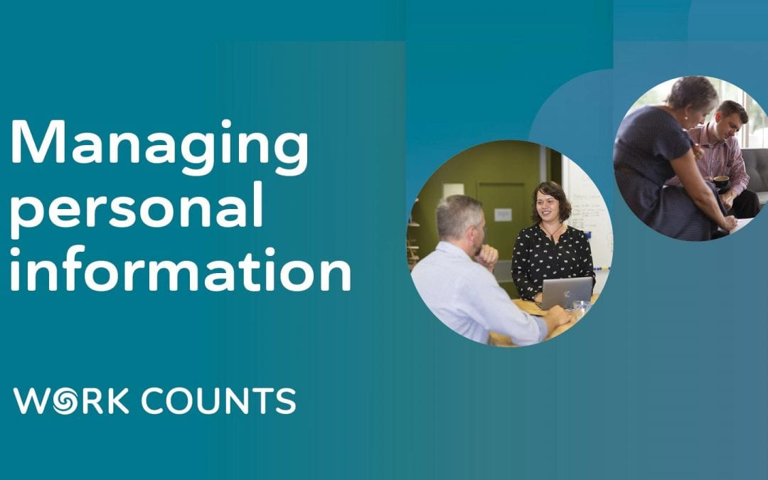 Managing personal information (Christchurch)