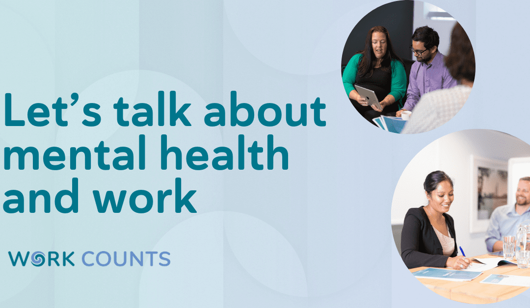 Let's talk about mental health and work (Auckland)